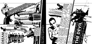 typography layout, crime --fd by fuzzydemon