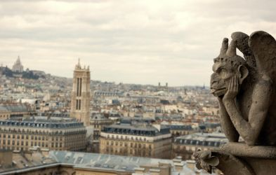 Gargouille from Notre Dame by shulgasergey