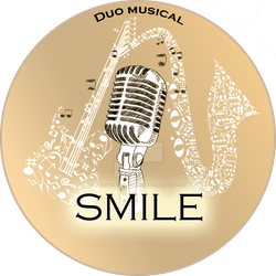 Logo SMILE Music by MademoiselleRougeArt