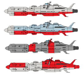 murasame class colour Variants by Robbie18