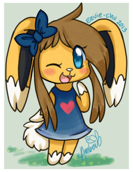 Amber In Animal Crossing by Ambunny