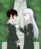 [RWBY] Your Tie is Crooked by Thothslibrary