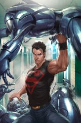 Superboy 4 Variant Cover by Artgerm