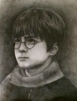 Philosopher's Stone pencil drawing by megadancingpanda
