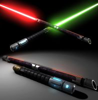 Old Republic LightSabers by Ahadur