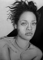 Rihanna by Xtranu