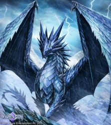 Frost Dragon by John-Stone-Art