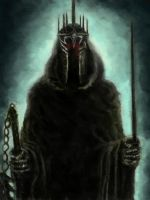 The Witch King of Angmar by Artofjuhani