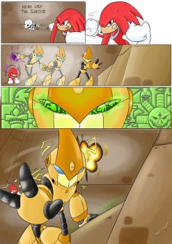 Knuckles: Skeletons in the Closet (Part 3: Page 4) by shamethedawg