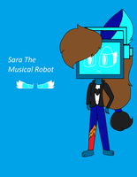 Sara The Musical Robot by astya45