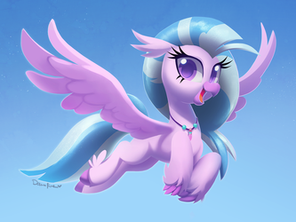 Commission: Silverstream by Celebi-Yoshi