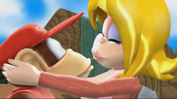 [MMD] (Animated) Donkey Kong 64 deleted scene by Jasalad