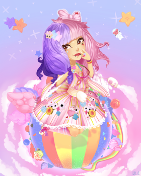 Mata the Decora by LuckyXClover