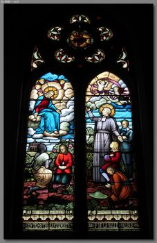 Armidale Catholic Cathedral Window by JohnK222