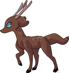 Deer Paselchi with Body Mutation and Hooves! by JB-Pawstep