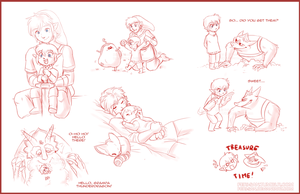 Zelink Family Dump - 3 by Ferisae