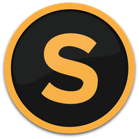 Sublime-Text Icon (Orange) by JustinByrne