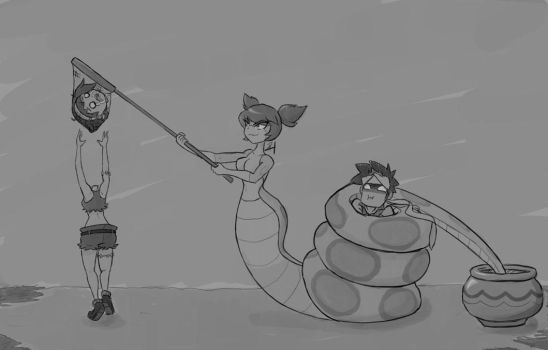 Hunting for Nagas Step 2 by AniMana21