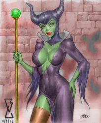 Maleficent by MrLively