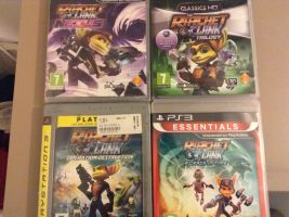 Ratchet and  clank collec by BrandyKoopa92