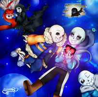 To the Undertale AU amino ! by JasmineM18