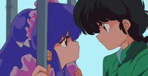 ranma and shampoo forever by reieguiang