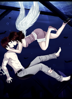 OCs--Won't let you go down by Purrinee
