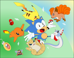 Pokemon Sonic Mania