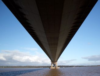 UNDER THE HUMBER BRIDGE by BlonderMoment