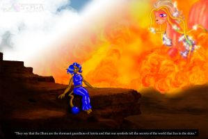 Eshe and Isai Scene V2 by AngelicEmpyress