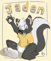 Jaden badge by pandapaco