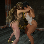 Cage Fight Club 01 Ayu vs Hikaru 045 by CalvadosJapan