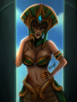 Cassiopeia - League of Legends by Hinata1495