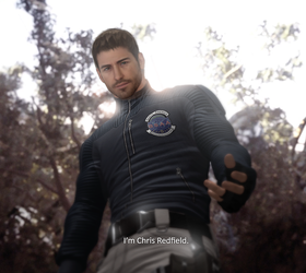 I'm Chris Redfield by LitoPerezito