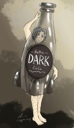 Grey in a bottle by o0NeonCola0o