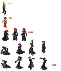 SCD sprite sheet by Sameji