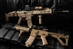 Magpul Masada ACR and M4 by Drake-UK