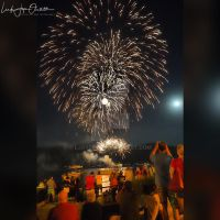 Fireworks over Lake George, NY by Ljoyce12
