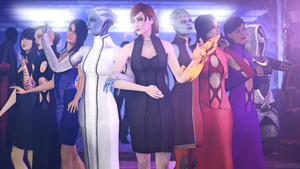 Ladies? (Mass Effect 3) by toxioneer