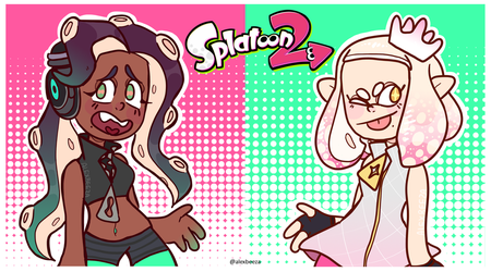 pearl and marina by alexbeeza