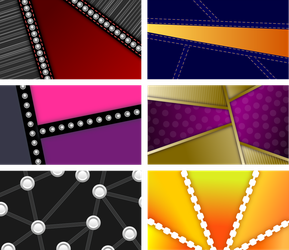 Simple Backgrounds - 1 Set of 6 by Viscious-Speed