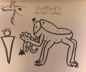Dungboro- the shite sculpters by Tet54