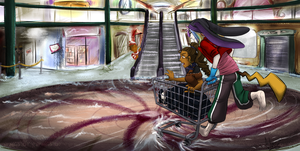 [DeApp] S.S. Shopping Spree by silver-dragonetsu