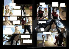Chronicles of arcea III - pages 2 and 3 by Vyrhelle-VyrL