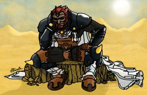 Ganondorf - King of Thieves by Lwiis64