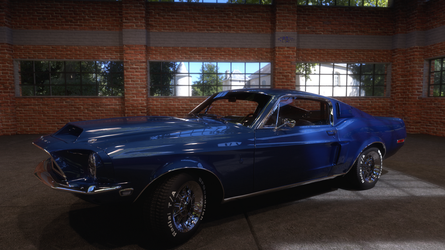 1968 Mustang by scifigiant