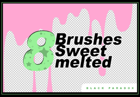 [PACK] Brushes Sweet Melted by gabygomita