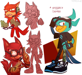 characters that are exceptionally original by Topazice