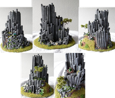 Basalt rock model by Graveni