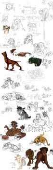 Sketchdump of 2013 Part 6 by timba